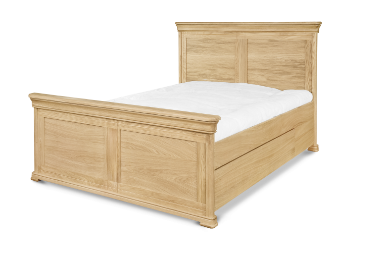 King size Bed (to fit 1500 mm mattress) H 1250 x W 1580 x D 2100 Super King size Bed (to fit 1800 mm mattress) H 1250 x W 1880 x D 2100 Double Bed (to fit 1350 mm mattress) H 1250 x W 1430 x D 2100