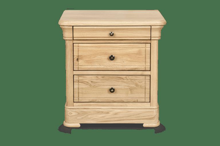 Bedside Cabinet H 590 x W 580 x D 460 H 590 x W 460 x D 460
