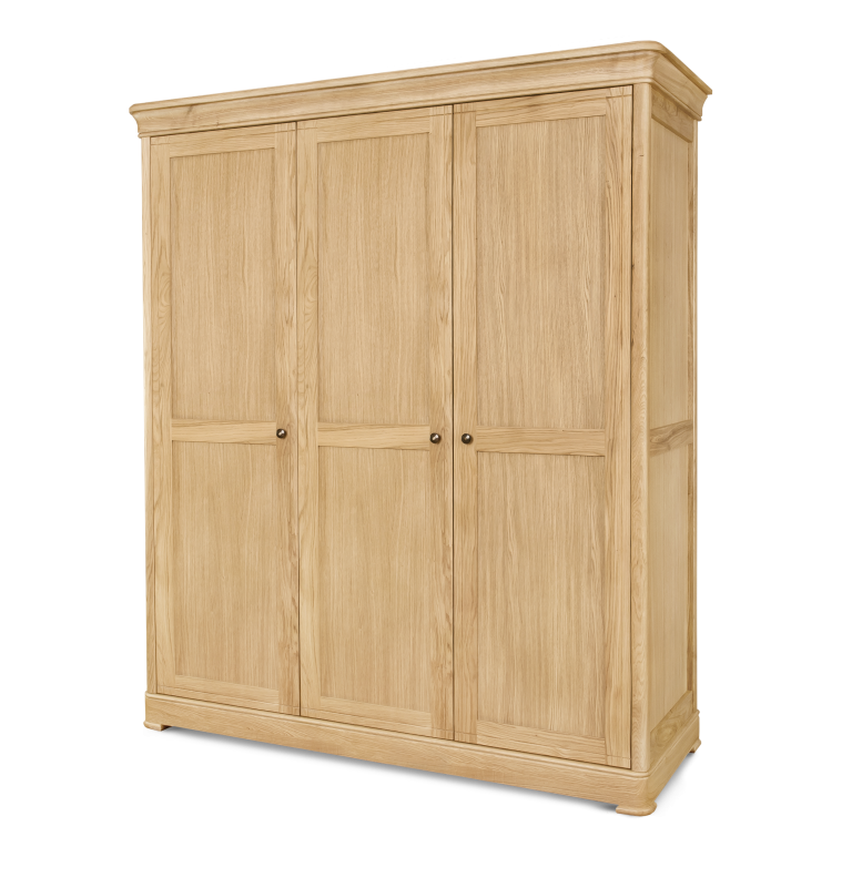 Triple Wardrobe H 2000 x W 1720 x D 600