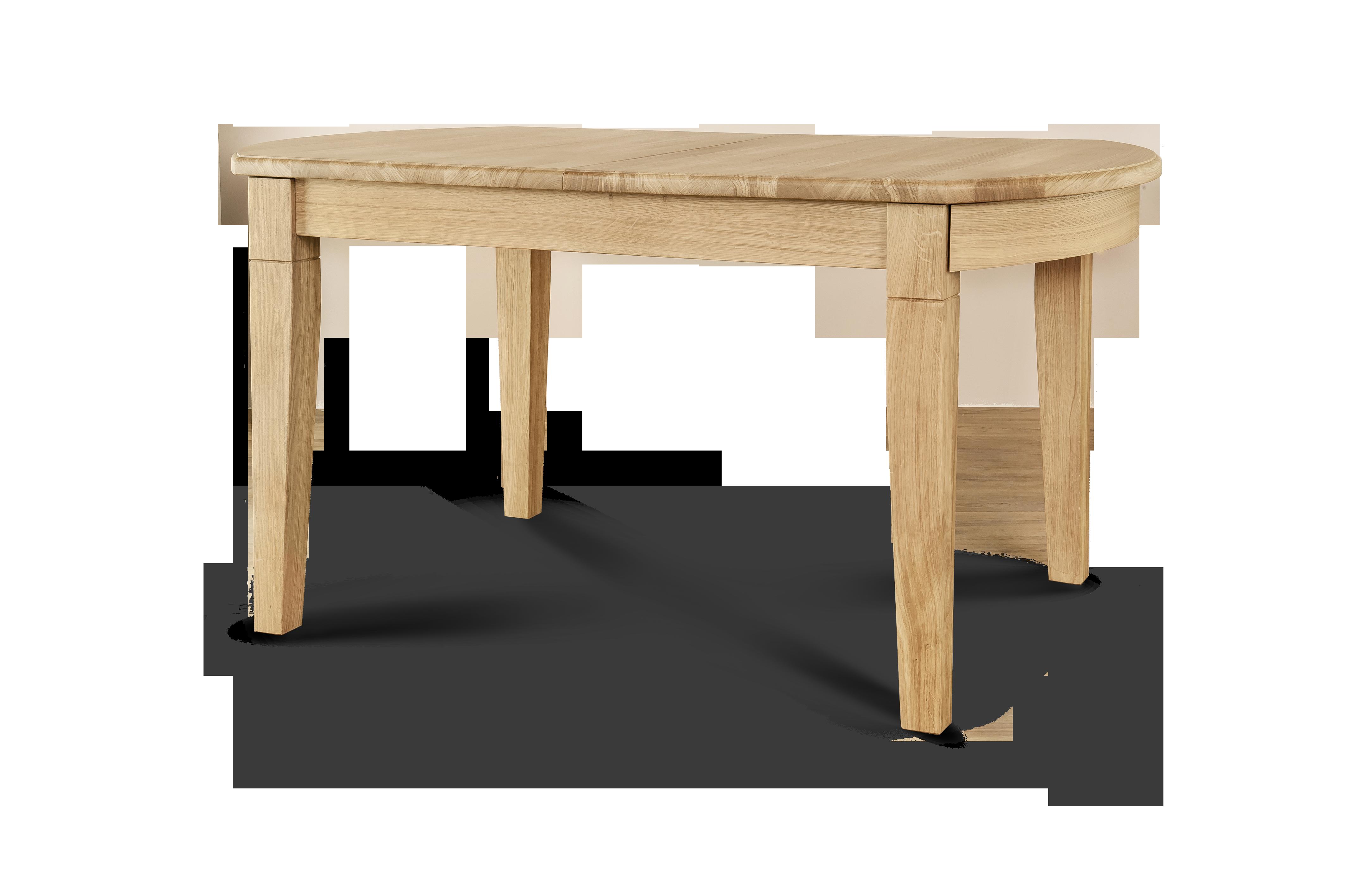 D-end Table H 750 x W 1500 x D 900 (+390 mm leaf) H 750 x W 1800 x D 900 (+500 mm leaf)