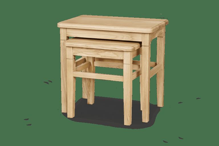 Nest of Tables H 560 x W 600 x D 400 H 465 x W 445 x D 375