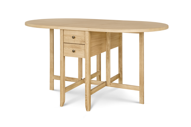 Drop leaf Table H 750 x W 1500 x D 900