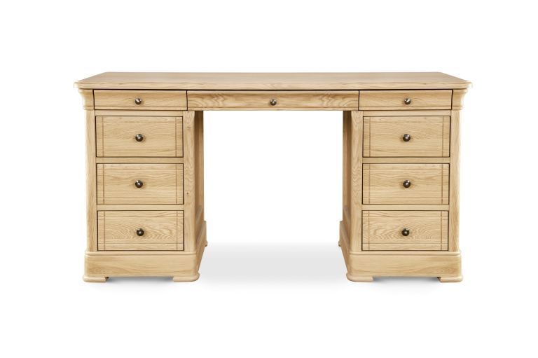 Three Drawer Dressing Table H 760 x W 1400 x D 460
